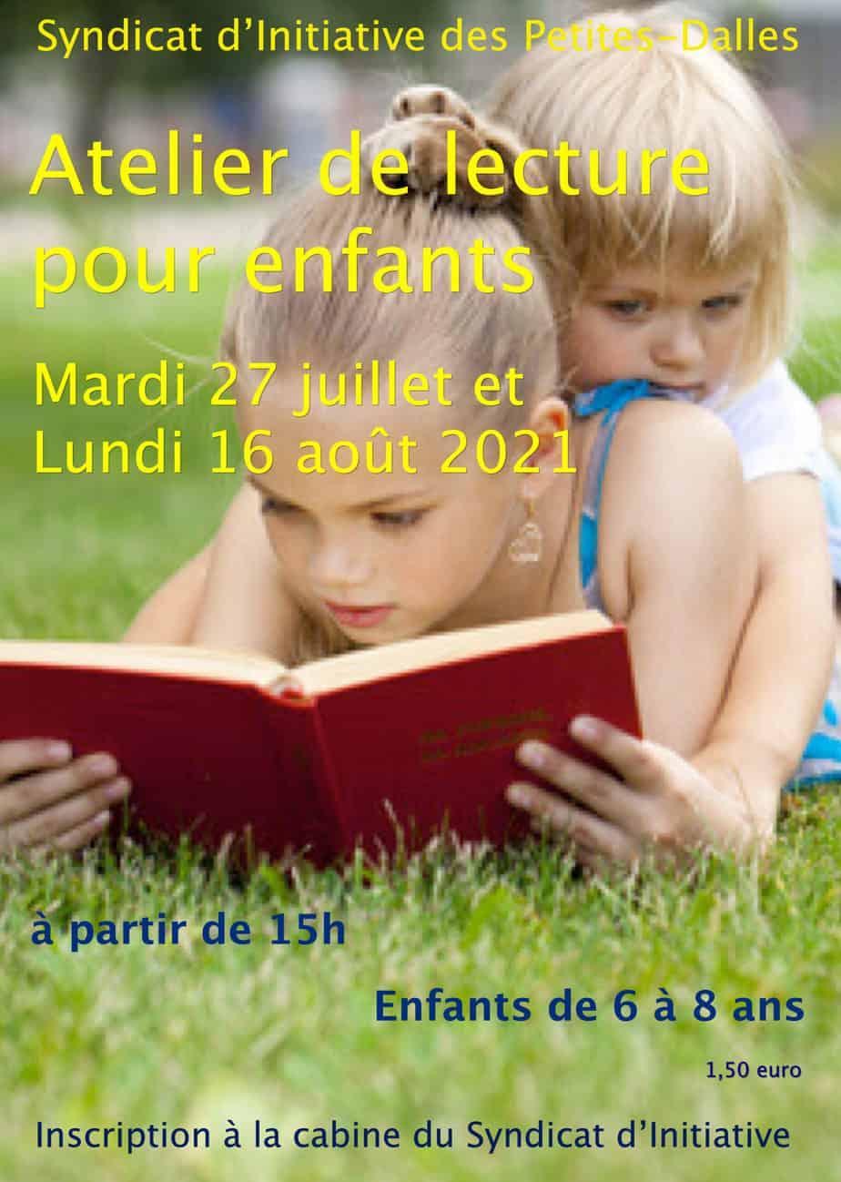 Atelier de lecture pour enfants