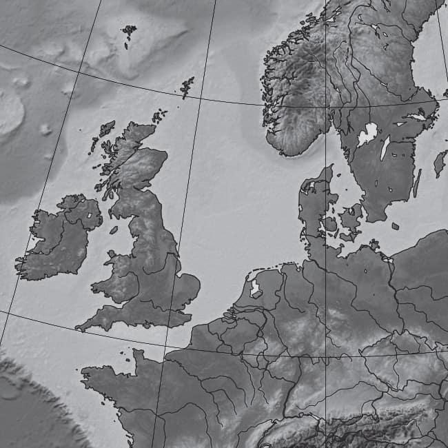 L'Europe, telle qu'elle se présente aujourd'hui.
