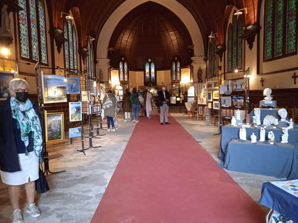 Exposition à la chapelle
