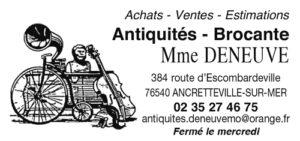 Antiquités - Brocante - Mme DENEUVE