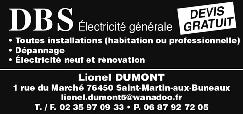 DBS – Électricité générale – Lionel Dumont