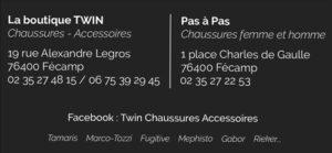 Boutique TWIN - Pas-à-pas