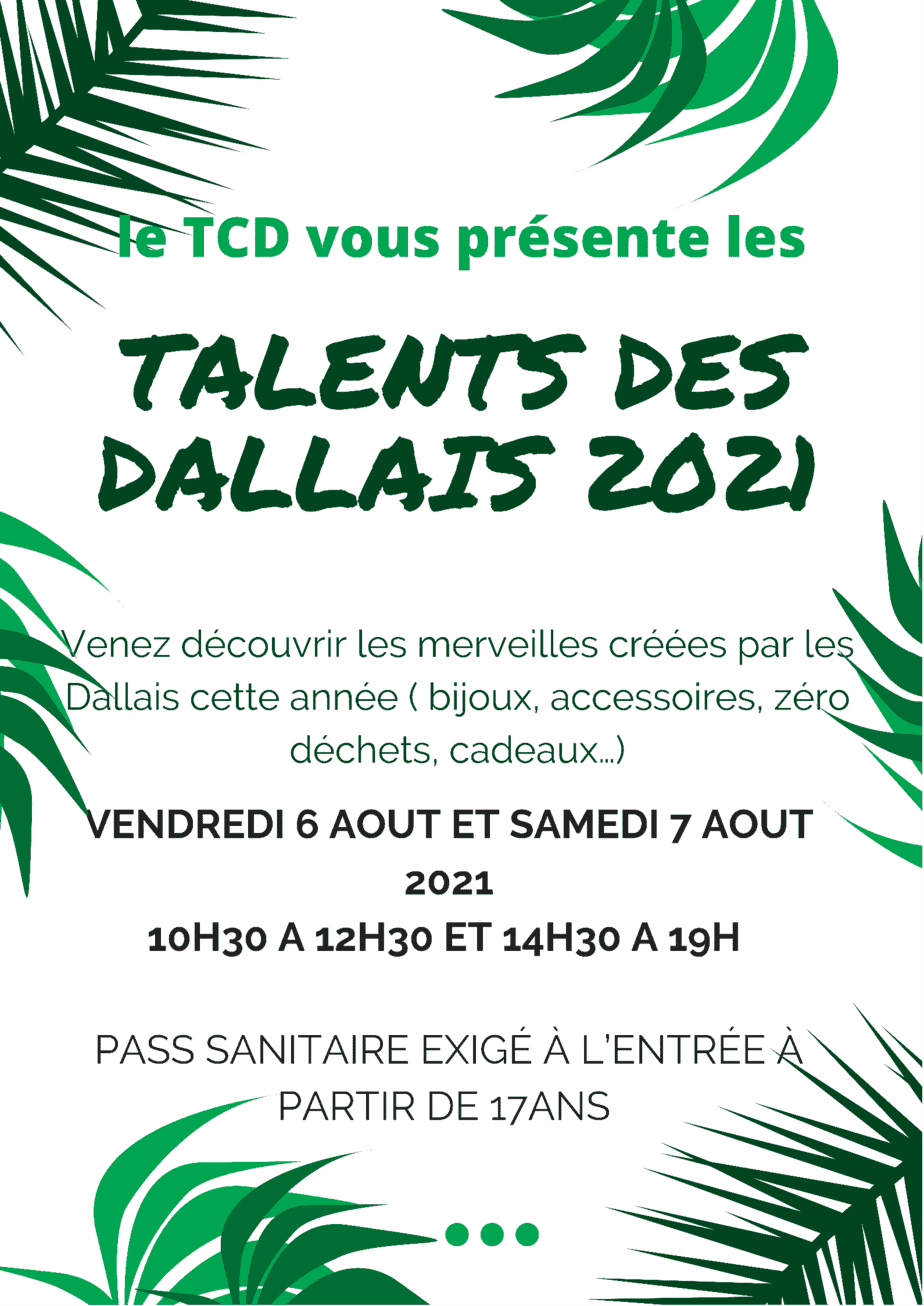 Les talents Dallais au TCD