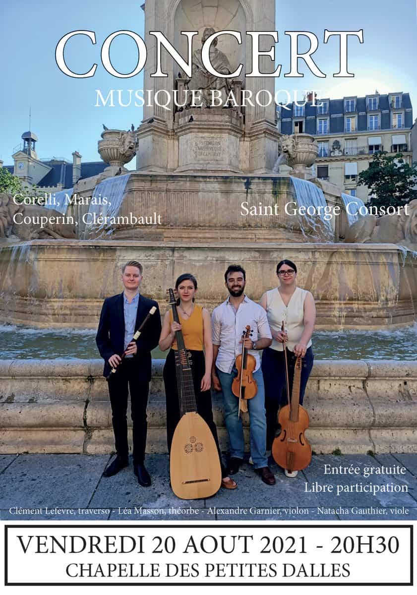 Concert musique baroque